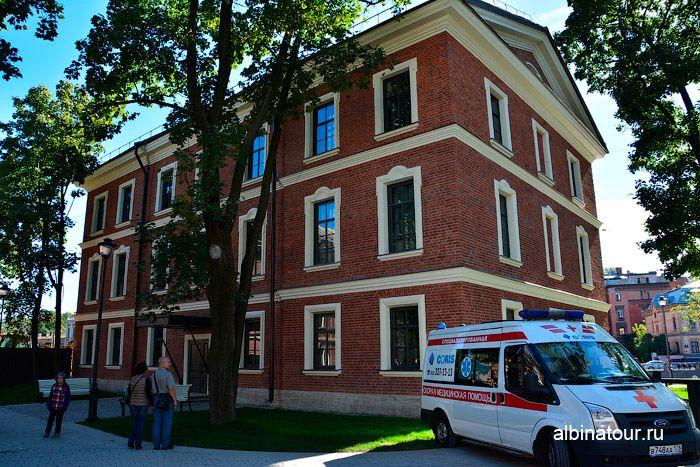 Новая Голландия Петербург фото дом Коменданта