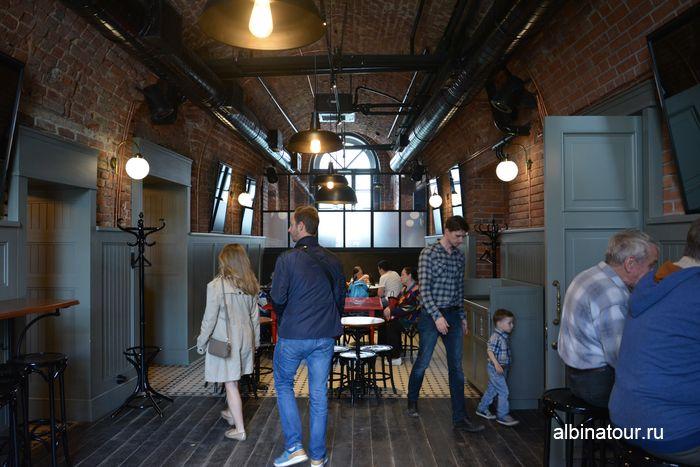 Кафе Волконский Deli проходной зал для приема пищи СПб