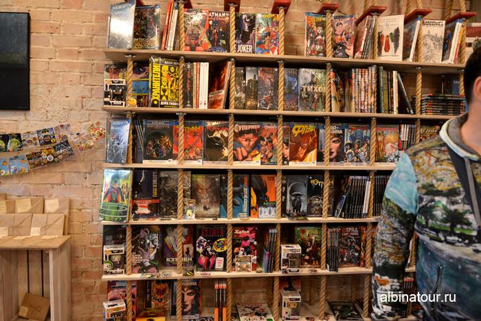 Новая Голландия СПб Бутылка магазин комиксов второго этажа фото