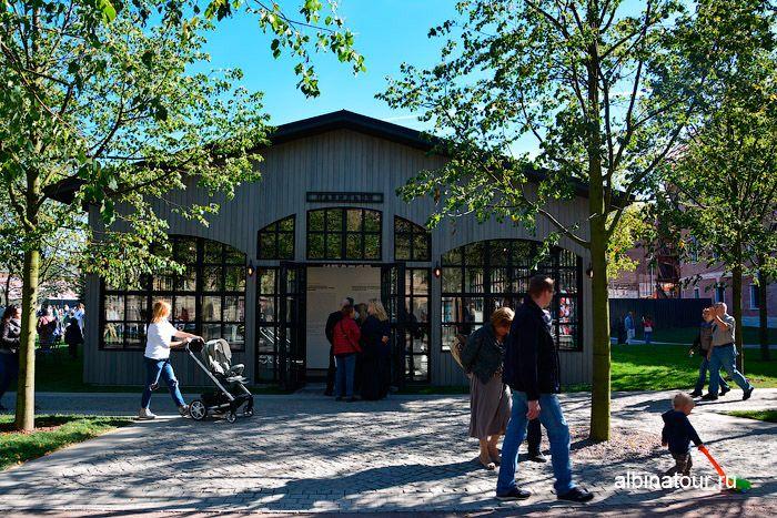 Новая Голландия Петербург фото временного павильона