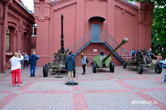 Военная техника музей Воды СПб