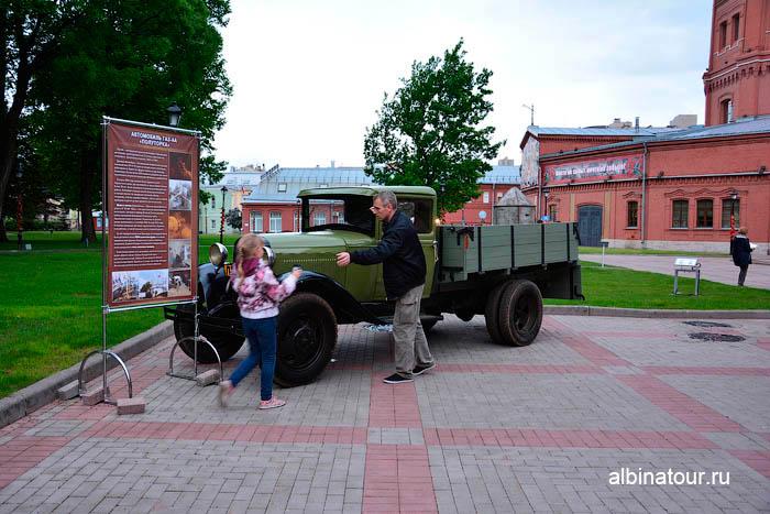 Автомобиль ГАЗ-АА музей Воды Петербург