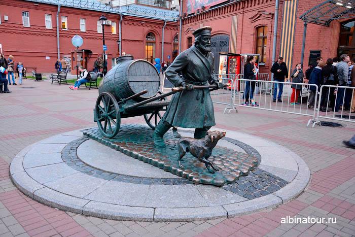 Музей воды памятник водовозу СПб