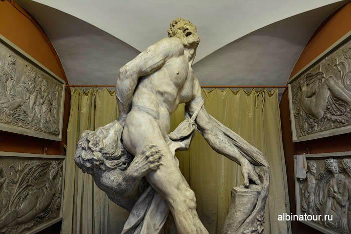 Античные скульптуры музей Академии художеств