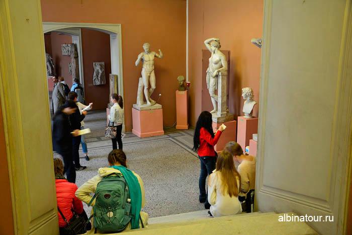 Античные скульптуры музей Академии художеств в Санкт Петербурге