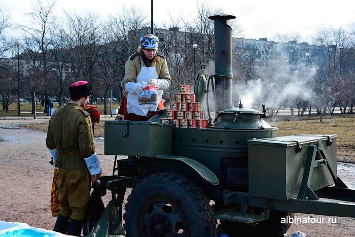 Полевая кухня фото масленица в СПб