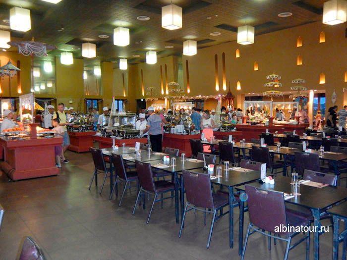 Фото вид ресторана на представление Сиам Нирамит на Пхукете