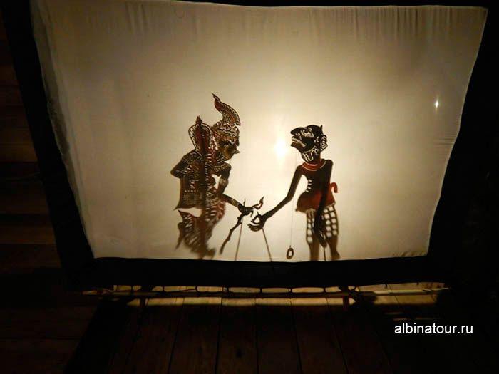 Фото театра теней в Таиланде