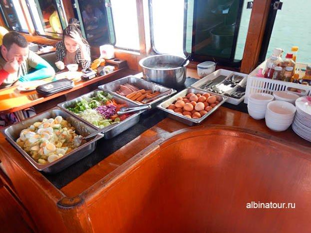 Фото Пхукет дайвинг завтрак на корабле