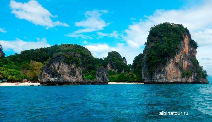 Фото берег острова Хонг Краби в Андаманском море Таиланд
