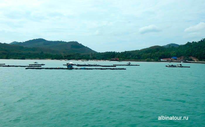 Фото морские фермы в Андаманском море