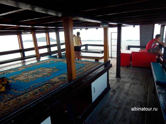Фото нижней палубы коробля