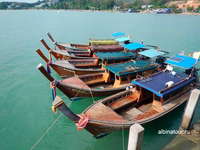 Фото Лодки называемые длиннохвостками