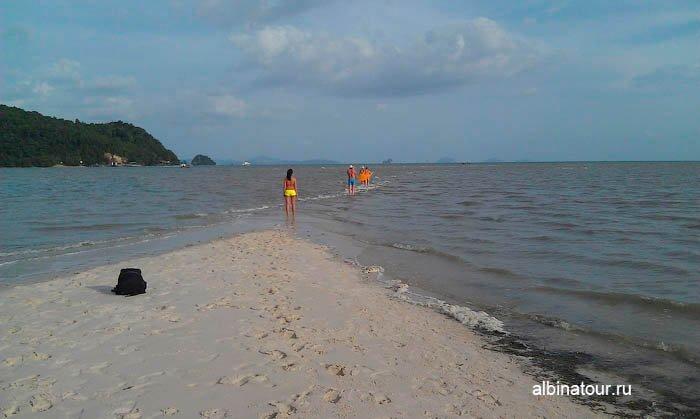 Высадка песчанная коса Яо Яй | Yao Yai в Андаманском море