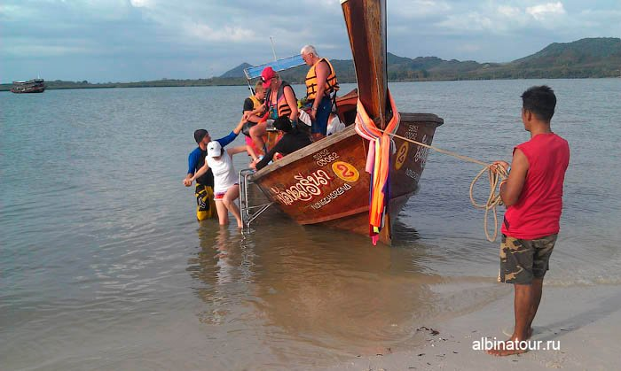 Высадка на остров Яо Яй | Yao Yai в Андаманском море в Таиланде фото