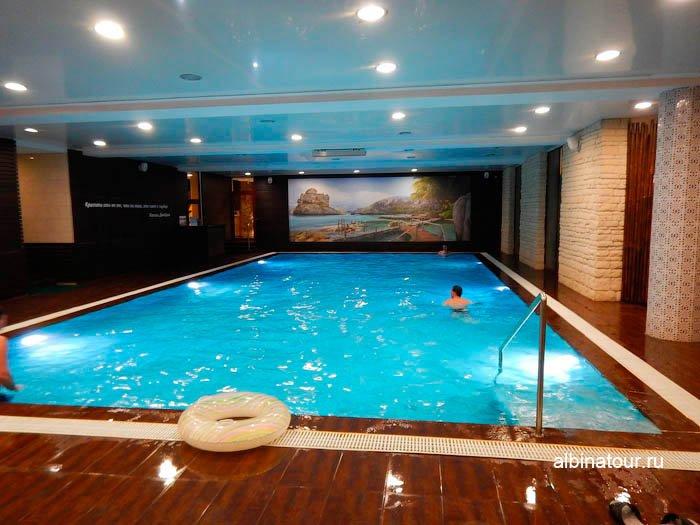 Фото бассейна СПА цент Береста отель Парк Инн Великий Новгород