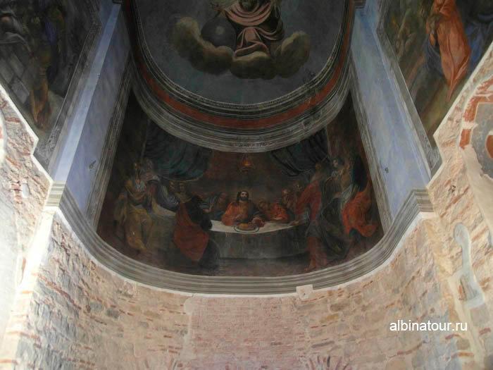 Фрески Никольского собора в Ярославово городище и торге в Великом Новгороде