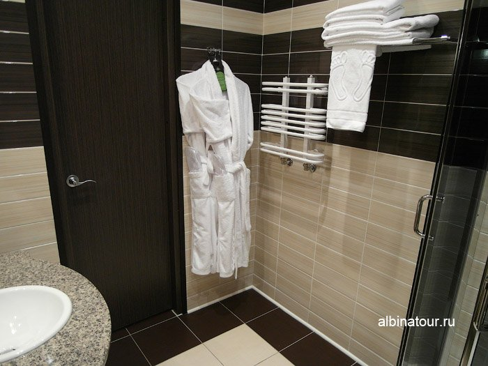 Фото ванная комната халаты ForRestmix club | Форрестмикс клуб Репино Санкт Петербург