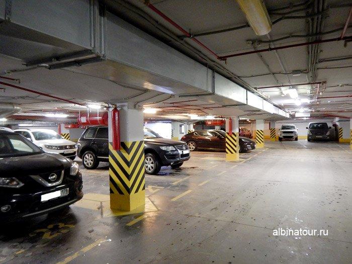 Фото подземный паркинг Форрестмикс клуб Репино