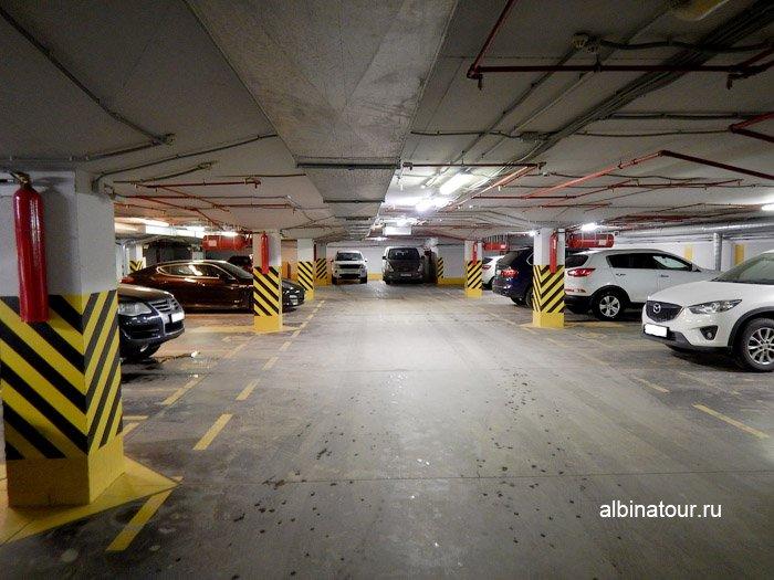 Фото подземный паркинг ForRestmix club | Форрестмикс клуб Репино