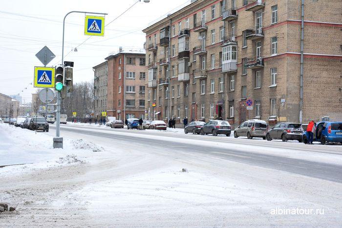 Парковка на улице Бабушкина у парка Бабушкина Санкт Петербург