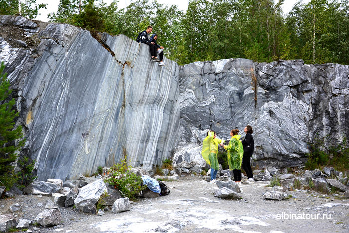 Россия Карелия  Рускеала мраморный каньон итальянский карьер