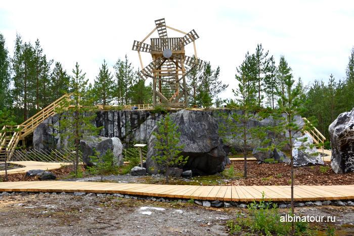 культурно-природный парк Калевала Карелия горный парк Рускеала