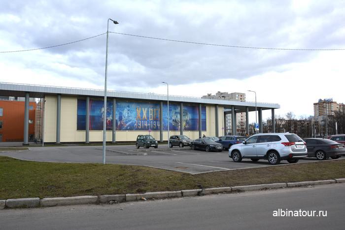 Санкт Петербург парковка у исторического парка Россия моя история