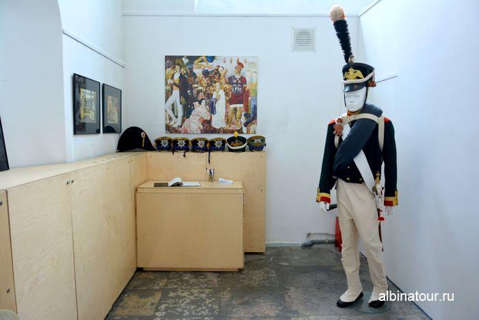 Солдат русской армии войны 1812 года в музеи Нарвские ворота