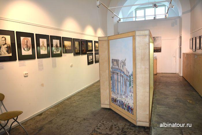 Помещение с экспозицией в музеи Нарвские ворота