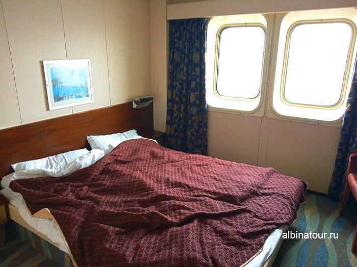 Каюта с окном Commodore на 6 палубе на пароме принцесса Анастасия фото