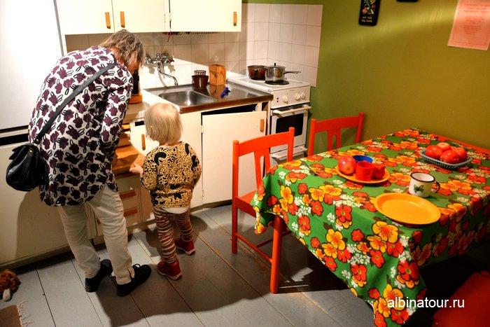 Детский город кухня Городской музей Хельсинки