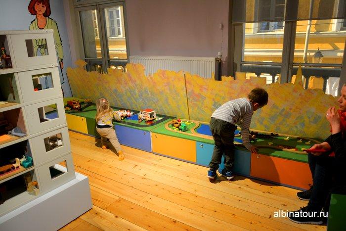 Детский уголок в Городском музеи Хельсинки