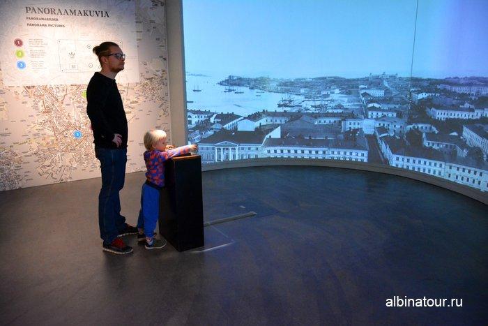 Интерактивный экспонат в Городском музеи Хельсинки фото