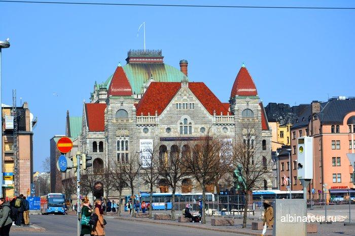 Финский национальный театр / Suomen Kansallisteatteri Хельсинки