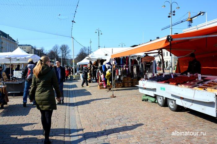 Рыночная площадь / Kauppatori в столице Финляндии Хельсинки фото