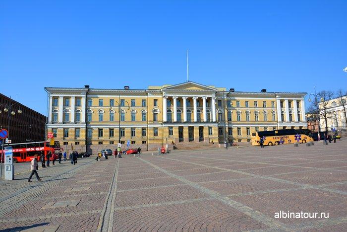 главное здание Хельсинкского университета Финляндия