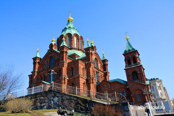 Успенский собор в Хельсинки фото