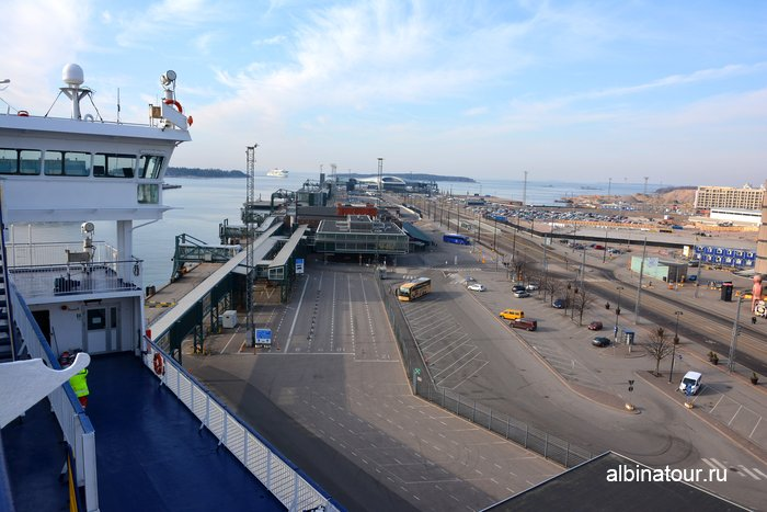 Западный морской пассажирский терминал / West terminal города Хельсинки фото