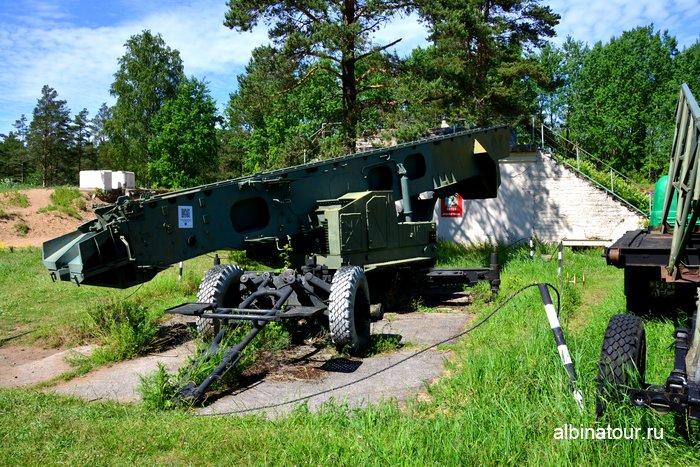 Береговой ракетный комплекс Сопка форт Красная горка Лен.область