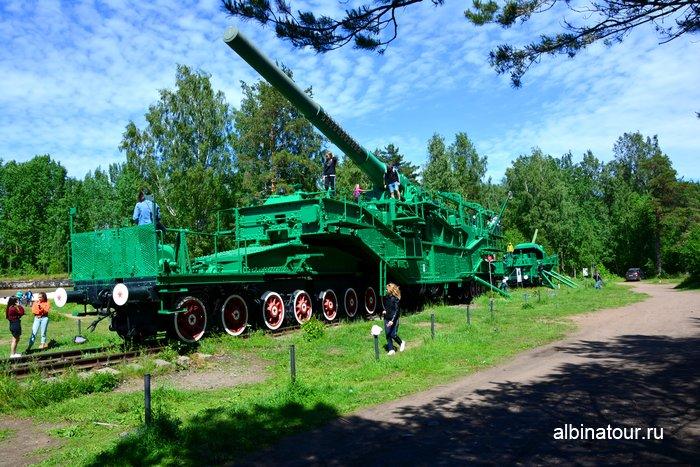 Артиллерийский транспортер ТМ-3-12 в форте Красная горка фото