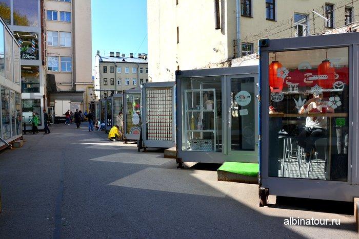 Пространство Улица Контейнерная лофт проект этажи СПб